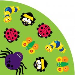 Alfombra Insectos