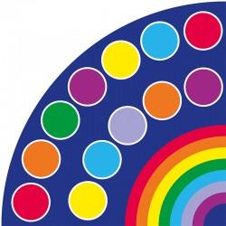 Alfombra Paleta de colores