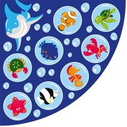 Alfombra Vida marina - Esquina