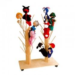 Stand para marionetas
